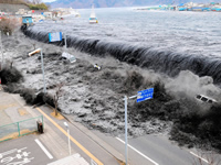 Flood in Japan