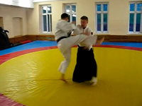 Is Aikido effective against kick-attack?