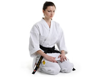 The rules of behavior on Aikido training
