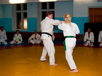 Mumonkan Aikido Club - trainings are held in the evenings