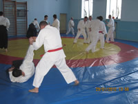 Aikido seminar by Vitaliy Goleshev, January 2012