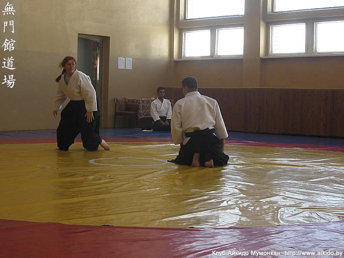 Aikido seminar by Mr  Makoto Ito in Minsk in 2013