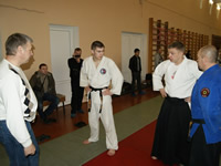 Aikido seminar by Vitaliy Goleshev in St.Petersburg