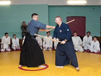 Mumonkan Aikido Club - we study principles of using weapon