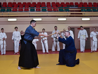 The first seminar in Minsk on Tenshin Shoden Katori Shinto-ryu under the guidance of Sergei Potapkov