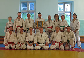 Mumonkan Aikido Club, Minsk, June 29, 2016