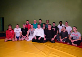 A master class for members of Hand-to-hand Fighting club, Vitsebsk