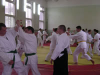 The Aikido seminar in Vitsebsk